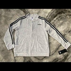 BNWT Adidas sweater sz M(10/12) girls